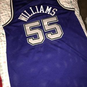 """43b2926f36f5 Nike Shirts - """"White Chocolate"""" Jason Williams Nike Jersey"""